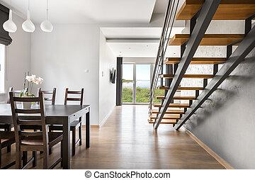 Beautiful open floor apartment idea
