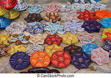 oriental dishes on the east bazaar
