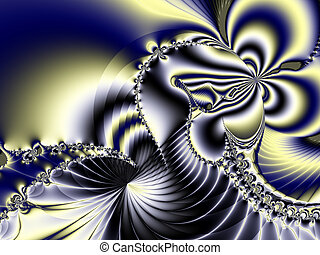 Beautiful, original fractal art background