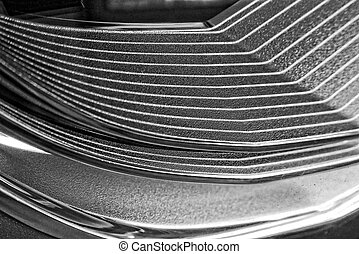 original white black background in thin lines pattern