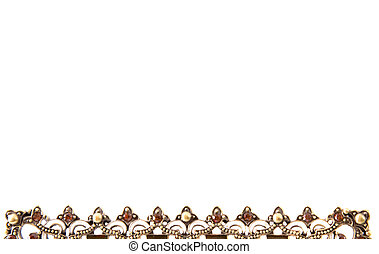 Beautiful Ornate Border - Beautiful ornate metallic border ...