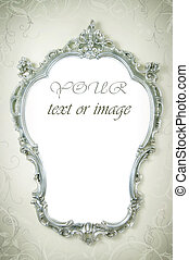 Beautiful Ornate Frame On The Wall