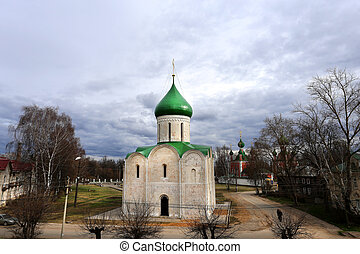 Beautiful Orthodox Church in Russia