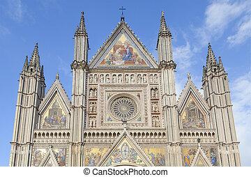 orvieto cathedral facade