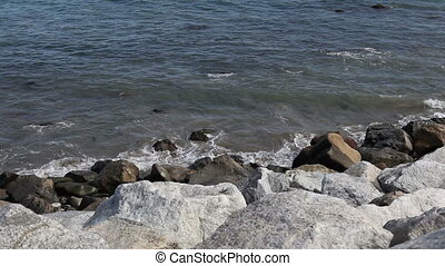 Beautiful pacific coastline and rocky beach - Pacific...
