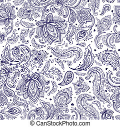 Beautiful paisley background
