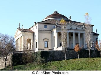 Beautiful palladian Villa called La Rotonda in Vicenza in...
