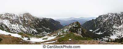 Beautiful panoramic of moutains - A beautiful panoramic view...