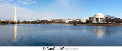 Washington DC - Beautiful Panoramic view of the Washington...