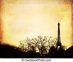 Parisian streets - beautiful Parisian streets - with space...