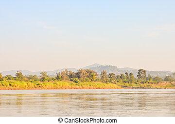 Beautiful photo landscape taken vang vieng in laos, Southeast Asia