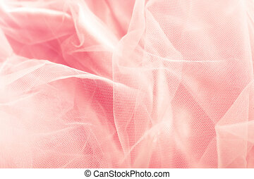 tulle background - beautiful pink tulle background