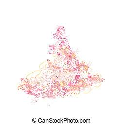 Beautiful princess - doodle
