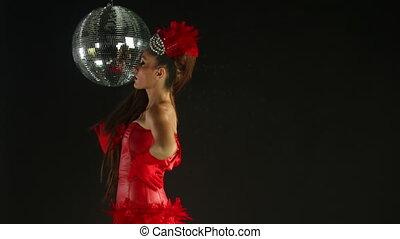 beautiful professional gogo dancer