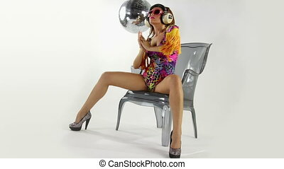 beautiful professional gogo dancing sister