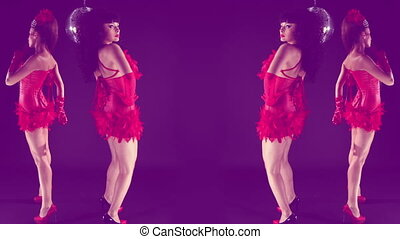 beautiful professional gogo dancing