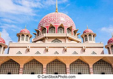 Beautiful Putra Mosque