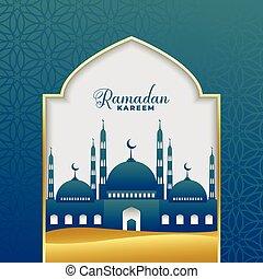 beautiful ramadan kareem islamic background