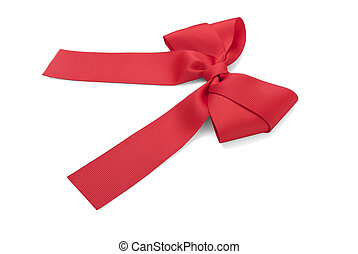 Beautiful red bow.