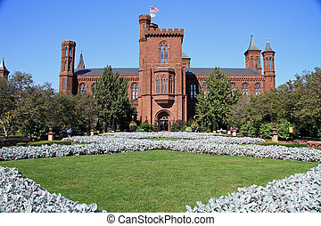 Smithsonian Museum - Beautiful red sandstone on the...