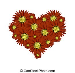 Red sunflower Clip Art and Stock Illustrations. 2,006 Red ...