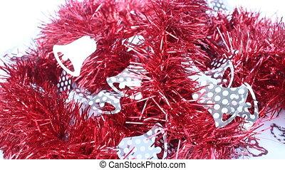Beautiful red winks ribbon - Beautiful red winks decoration...