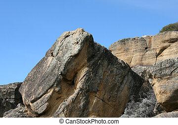 Beautiful rock textures