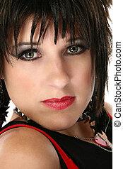 Beautiful Rocker Chick - Beautiful thirty year old woman...