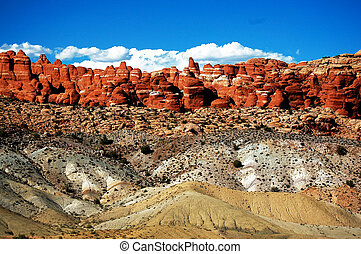 Beautiful rocks with different color