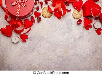 Beautiful romantic composition