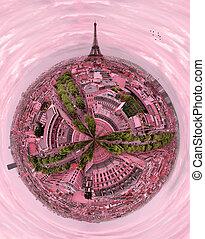 Beautiful romantic Paris,