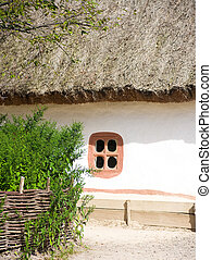 Beautiful rural cottage in summer