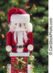 Beautiful Santa Claus nutcracker