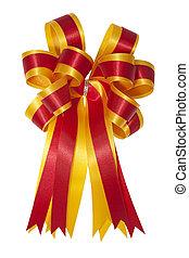 Beautiful satin gift bow