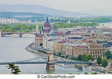 Scene in Budapest,Hungary