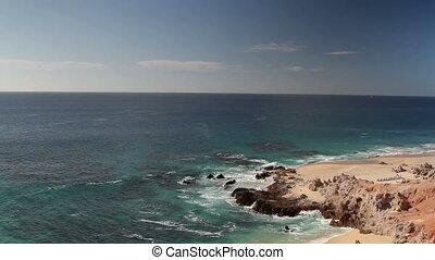 beautiful scene in los cabo, baja california sur mexico...