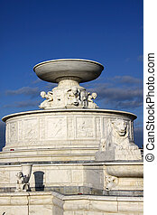 Detroit's Bell Isle fountain