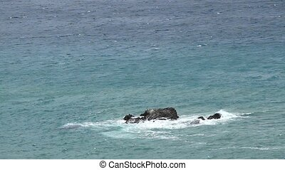 Beautiful sea and rocks