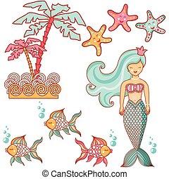 Beautiful sea collection