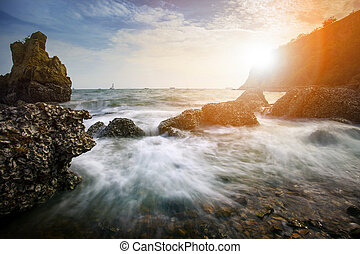 beautiful sea scape photography in leam chabang chonburi ...