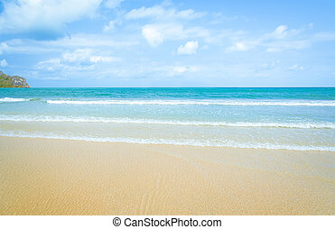 Beautiful sea summer, Beautiful beach background
