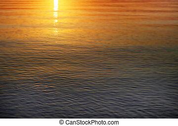 Beautiful sea sunrise background