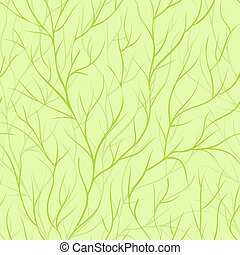 Beautiful seamless background with tree branches.