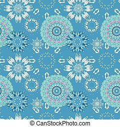 beautiful seamless pattern. decorative elements vector illustration