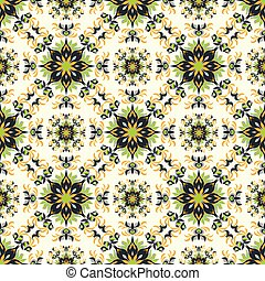 beautiful seamless pattern. Vintage decorative elements vector illustration