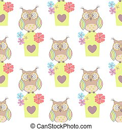 Beautiful seamless pattern
