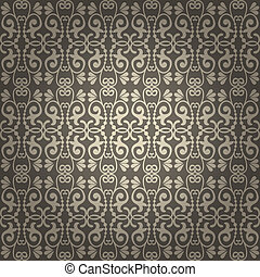 Seamless Vintage Vector Background
