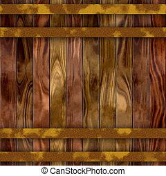 seamless wood barrel texture