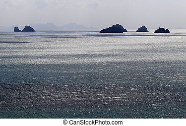 Beautiful seascape Islands