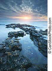 Beautiful seascape nature. - Beautiful seascape. Composition...